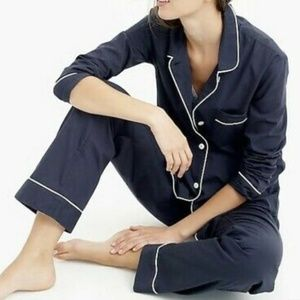 J Crew Vintage Cotton Short Sleeve Pajamas SET
